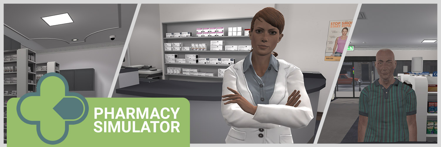 Pharmacy Simulator Banner
